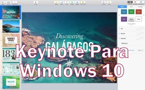 Keynote for pc Windows 10 download