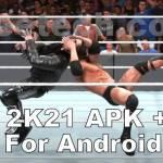 WWE 2K21 apk Android screenshots 4