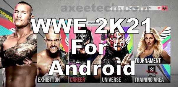 WWE 2k21 Apk APP for Android