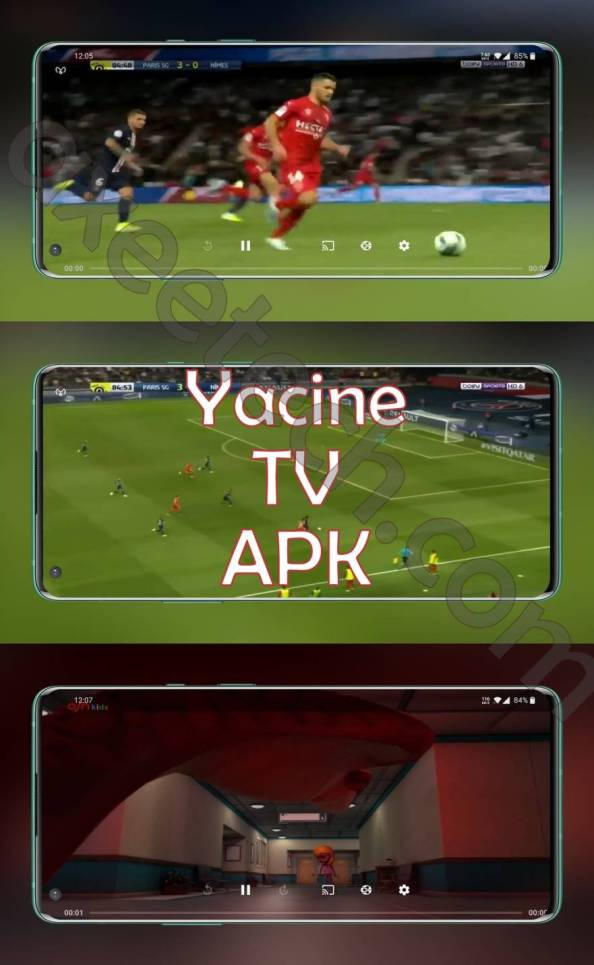 YacineTV app for Android