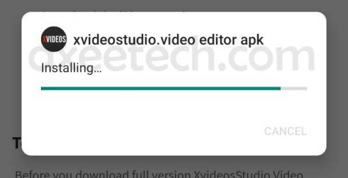 xvideostudio video editor apk free installation guide