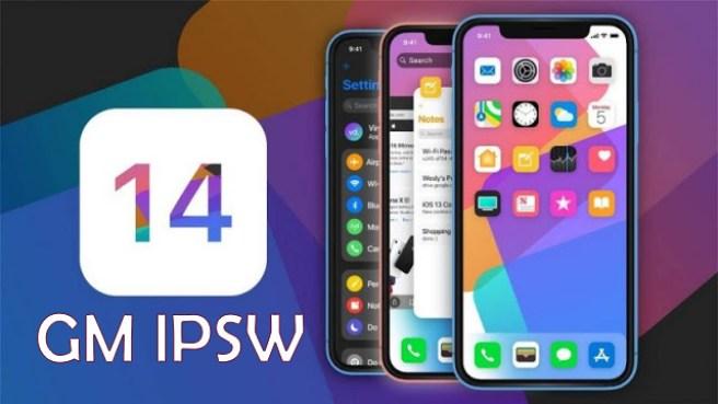 iOS 14 Gold Master ipsw iPhone