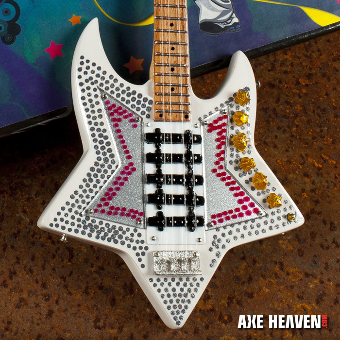 """Bootsy Collins """"Space Bass"""" Mini Guitar - Hand-Crafted with Extraordinary Detail"""