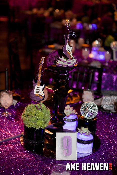 Guitar Centerpieces Amp Decorations By AXE HEAVEN Mini