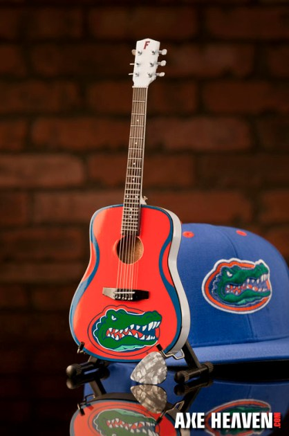 University of Florida Gators Miniature Guitar Replica Collectible