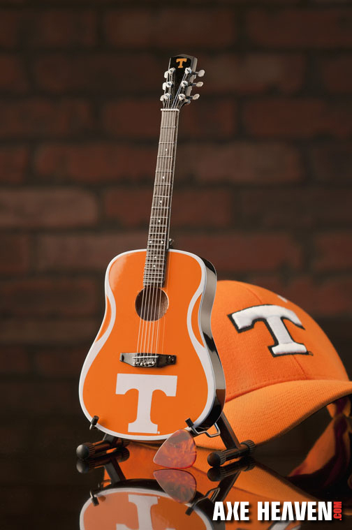 University of Tennessee Volunteers Miniature Guitar Replica Collectible