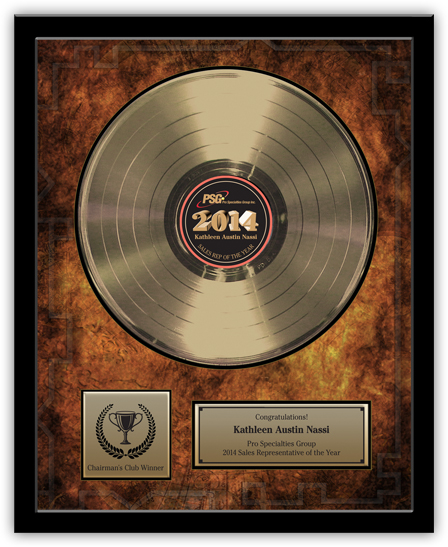 Gold Record Award - Deluxe 12""