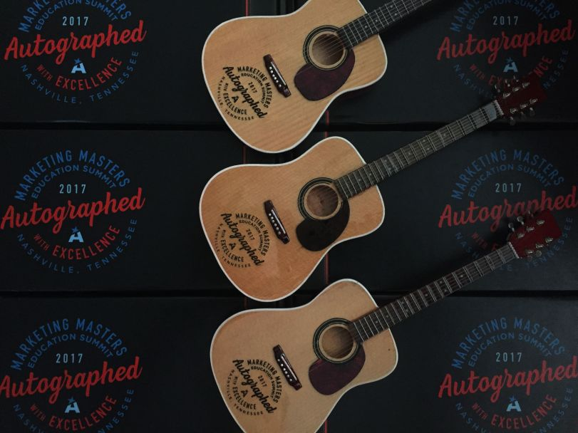 Marketing Masters Laser-Engraved Guitars and Custom Gift Boxes