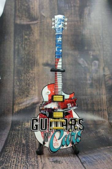 "Guitars N' Cars 10"" Promotional Mini Guitar by AXE HEAVEN®"