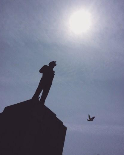 General Douglas MacArthur's statue at Jayu (Freedom) Park