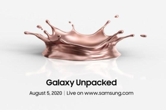 Galaxy Note20 真的要來啦!三星官方宣佈 Galaxy Unpacked 2020 確認於 8/5 晚上 10 點展開!!
