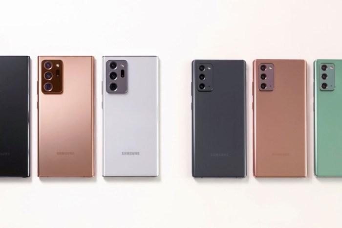 三星 Galaxy Note20 系列完整規格比較,附加前代 Note10+ 規格比較!