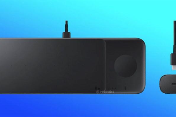 無線三充來了!三星將推出「Wireless Charger Trio」無線充電板,可一次為三個裝置無線充電!