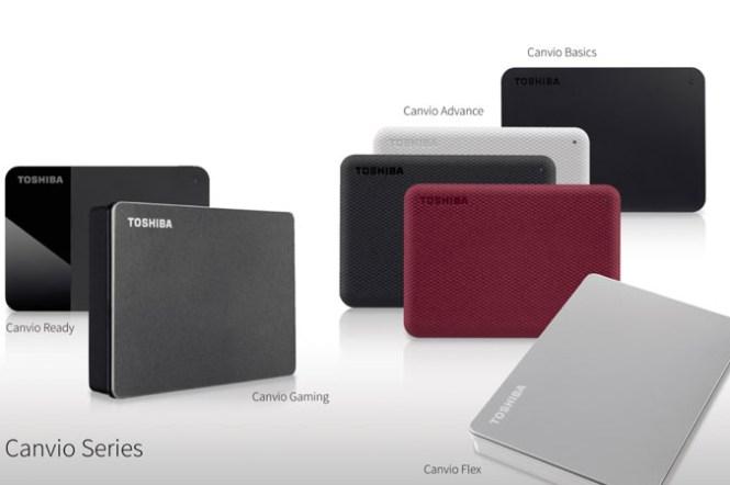 TOSHIBA Canvio系列外接儲存裝置推出 Canvio Flex 與 Canvio Gaming 外接硬體,全新外型設計與應用軟體登場!