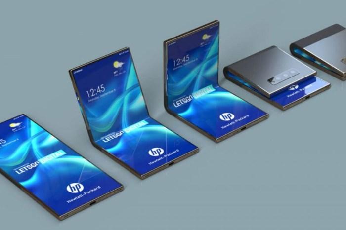 HP 也掌握了可摺疊螢幕手機技術,利用獨特材料與結構解決螢幕摺疊的耐用性問題!