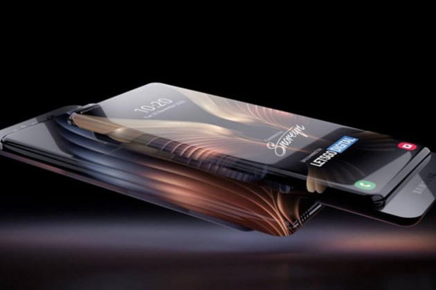 真正的「全螢幕手機」?三星新專利打造「全環繞螢幕」手機,無死角的顯示範圍,還有滑蓋相機設計!