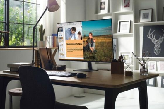 三星首款智慧聯網螢幕 Smart Monitor M7 / M5 在台上市,不接電腦也能支援遠端存取、Office 365 與 DeX!