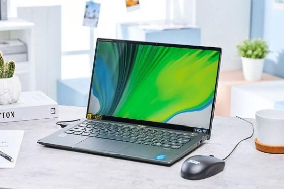Intel EVO 版 Acer Swift 5 開箱實測:既纖薄又堅固,搭載 Intel 第 11 代處理器,效能不只強悍更兼具全日續航力!