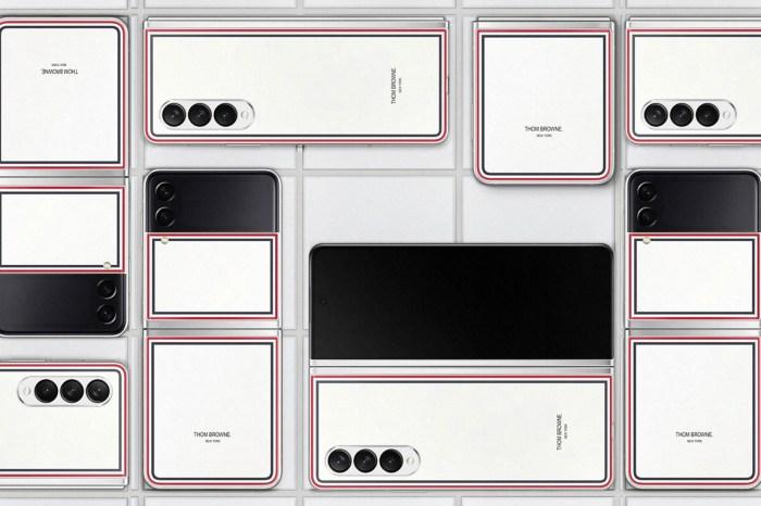 三星 Galaxy Z Fold3 & Flip3 5G Thom Browne Edition 限量版搶先公佈價格與銷售訊!