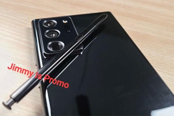 三星 Galaxy Note20 Ultra 實機照已曝光!就是大家知道的那個樣子…
