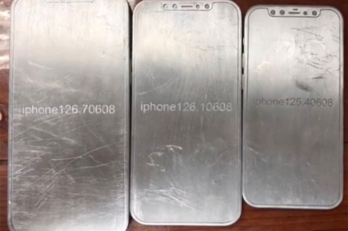 iPhone 12 系列的設計藍圖已曝光?共有四種不同尺寸的機型!