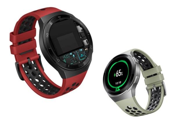 華為在台推出全新穿戴裝置 HUAWEI WATCH GT 2e 與 HUAWEI Band 4 Pro,全面升級運動管理、健康監控功能!