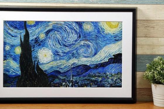 Meural Canvas 智能藝術畫框開箱評測:經典藝術畫作一次蒐羅,用高科技為家中帶來人文氣息!