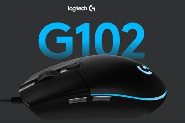羅技 G102 第二代電競滑鼠全面升級!內建 LIGHTSYNC RGB 七彩燈效,蝦皮超品日首亮相!