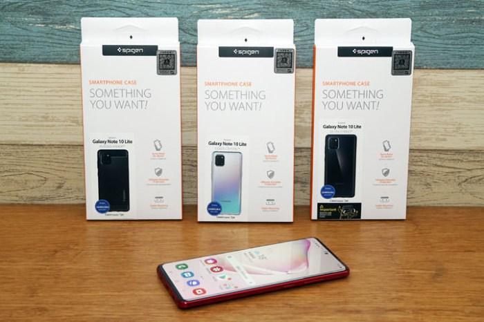 Galaxy Note10 Lite 專用 SGP 保護殼開箱: Spigen Liquid Crystal / Ultra Hybrid / Rugged Armor 你選哪一款?