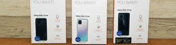 Galaxy Note10 Lite 專用 SGP 保護殼開箱: Spigen Liquid Crystal / Ultra Hybrid / Rugged Armor 你選哪一款?