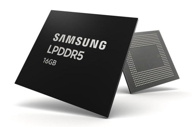 三星開始為下一代旗艦智慧型手機量產首款 16GB LPDDR5 DRAM 晶片!