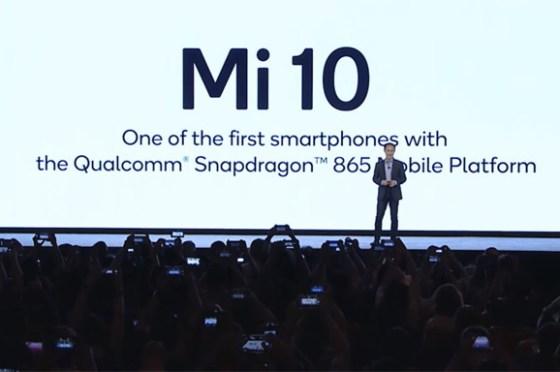 小米10 將搭載美光全球首款低功耗記憶體 LPDDR5 晶片,並採用高通 Snapdragon 865 處理器!