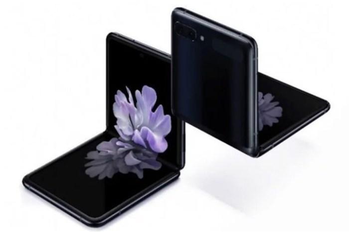 疑似三星 Galaxy Z Flip 官方實機渲染圖流出!外觀設計細節完全曝光!