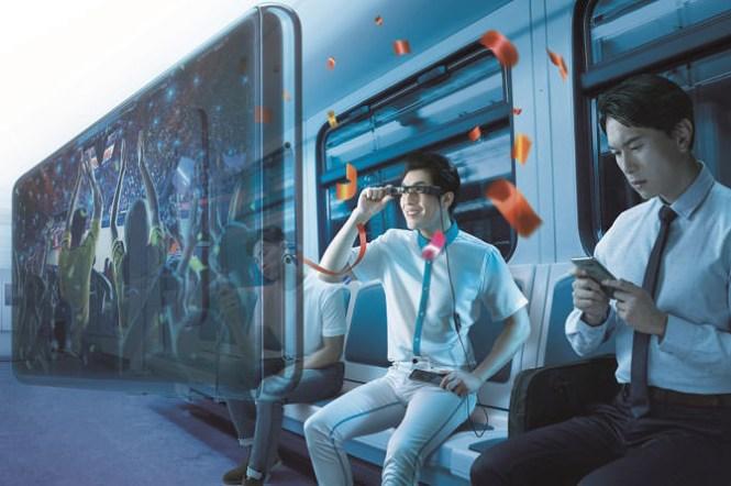 Epson發表「次視代 智慧眼鏡」Moverio BT-30C中華電信獨賣,80吋精彩大「視」界 解放小螢幕的無限可能!