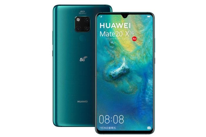 華為推出全球首款 5G 雙卡手機 HUAWEI Mate20 X 5G,11/7 正式在台上市!