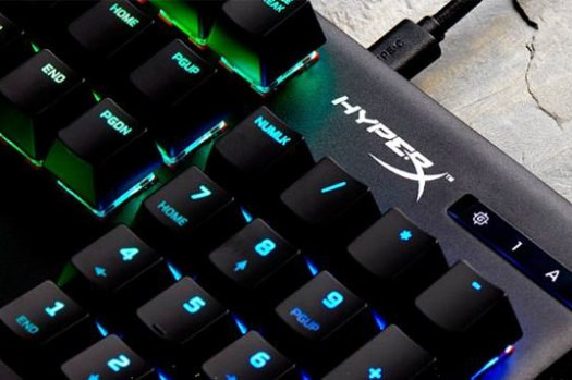 HyperX 首款自研機械紅軸鍵盤「Alloy Origins」正式上市!反應速度更快,耐用度可達 8000 萬次敲擊!