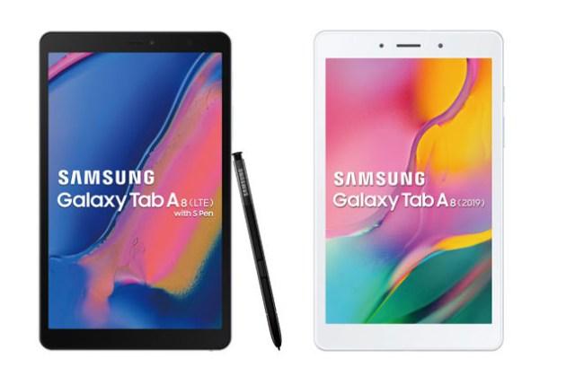 [Mobile] 三星新推 8 吋 LTE 平台 Galaxy Tab A8(2019)與  Galaxy Tab A8 with S Pen(2019)滿足娛樂、智慧應用與家庭共享需求!
