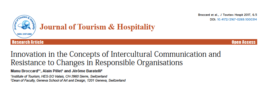 Publication « Innovation in the concepts of intercultural