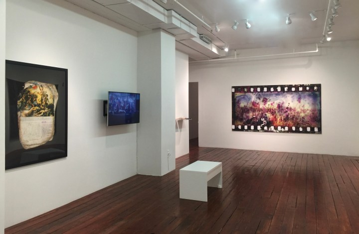 <i>Liquid State</I> installation view, Axis Gallery, September 2017