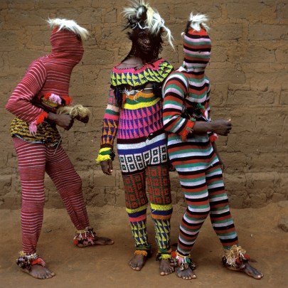 Ngar Ball Traditional Masquerade Dance, Cross River, Nigeria, 2004