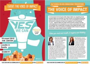 the voice of impact