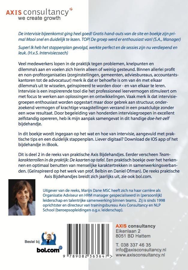 Intervisie DOE HET ZELF Marijn Dane axis Consultancy NLP school a