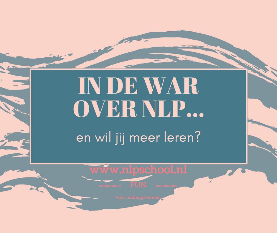 In de war over NLP en wil jij meer leren? Schrijf je in https://www.nlpschool.nl/inschrijven