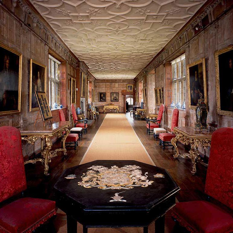 Penshurst House Gardens interior