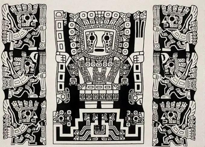 Tiwanacu_SunGod