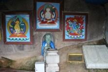 Aryabal Buddhist Meditation Center nel Parco Nazionale di Gorkhi-Terelj. Grotta di Milarepa.
