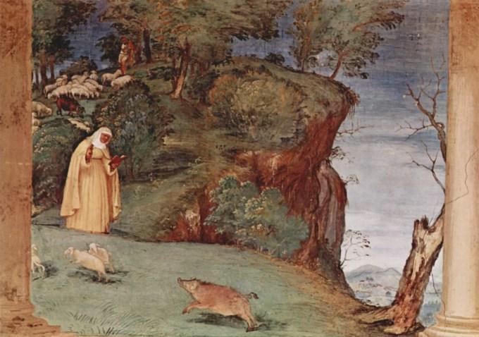 frescoes-in-the-oratory-suardi-in-trescore-scene-of-the-blessing-of-st-brigid-of-kildare-1524