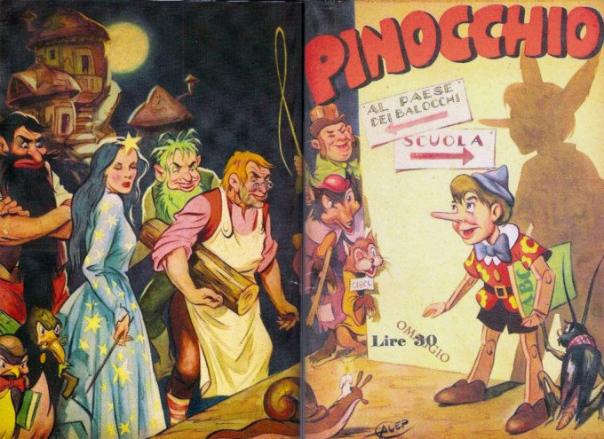 Pinocchio-Libro-Riassunto