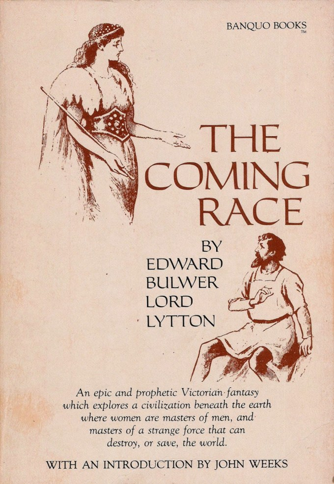 Bulwer-Lytton 1871 - The Coming Race