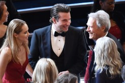 Bradley Cooper and Clint Eastwood